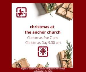 Christmas Eve Service Whitby Porirua The Anchor Church